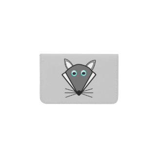 かわいいハロウィンのオオカミカード財布 名刺入れ
