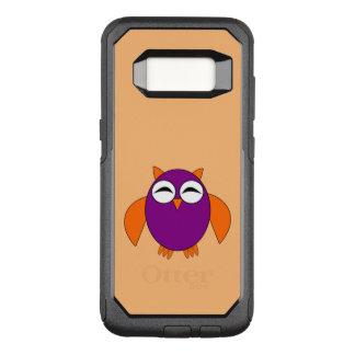 かわいいハロウィンのフクロウの電話箱 オッターボックスコミューターSamsung GALAXY S8 ケース
