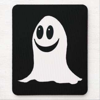 かわいいハロウィンの漫画の幽霊 マウスパッド