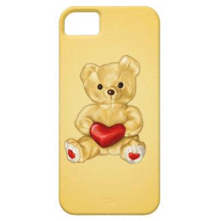 かわいいハートのテディー・ベアのHypnotist iPhone SE/5/5s ケース