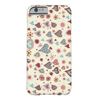 かわいいハートパターン BARELY THERE iPhone 6 ケース