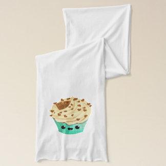 かわいいバニラチョコレートカップケーキ スカーフ