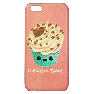 かわいいバニラチョコレートカップケーキ iPhone5Cケース