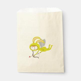 かわいいバニーのキューピッドの好意のバッグ フェイバーバッグ