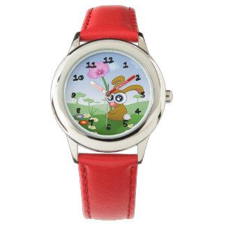 かわいいバニー 腕時計