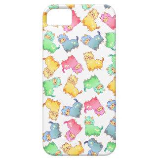 かわいいパステル調のアルパカの電話箱 iPhone SE/5/5s ケース