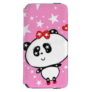 かわいいパンダくまのおもしろいな名前入り INCIPIO WATSON™ iPhone 5 財布型ケース