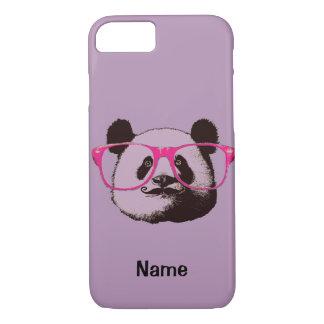 かわいいパンダくまのおもしろいな名前入り iPhone 8/7ケース