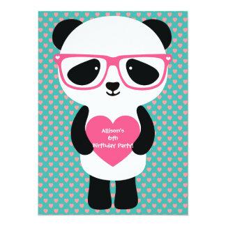 かわいいパンダの誕生日 カード