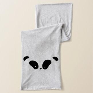 かわいいパンダの顔のスカーフ スカーフ