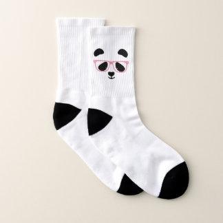 かわいいパンダの顔 ソックス