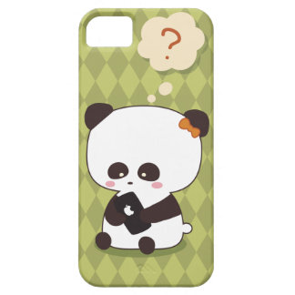 かわいいパンダのiphoneの場合 iPhone SE/5/5s ケース