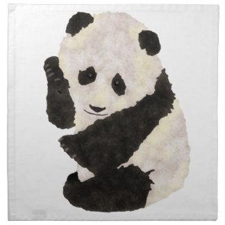 かわいいパンダ ナプキンクロス