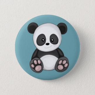 かわいいパンダ 5.7CM 丸型バッジ