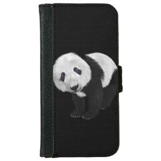 かわいいパンダ iPhone 6/6S ウォレットケース