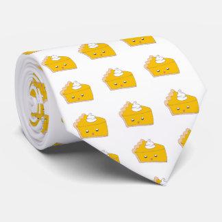 かわいいパンプキンパイの切れ ネクタイ