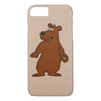 かわいいヒグマのデザインのiPhoneの箱 iPhone 8/7ケース