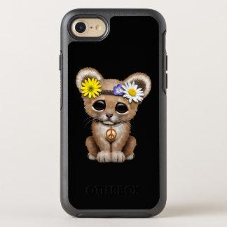 かわいいヒッピーのライオンの子 オッターボックスシンメトリーiPhone 8/7 ケース