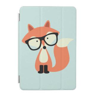 かわいいヒップスターのアカギツネ iPad MINIカバー