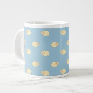 かわいいヒツジパターンジャンボマグ ジャンボコーヒーマグカップ
