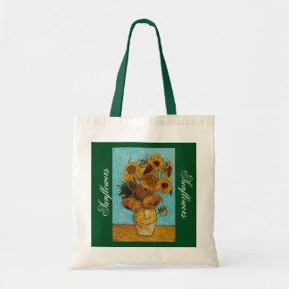かわいいヒマワリの予算のトートバック トートバッグ
