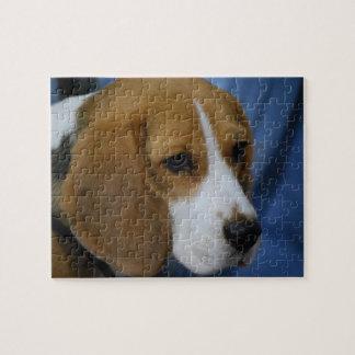 かわいいビーグル犬のパズル ジグソーパズル