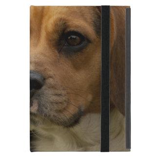 かわいいビーグル犬の小犬 iPad MINI ケース