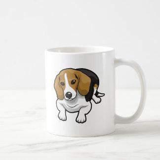 かわいいビーグル犬 コーヒーマグカップ