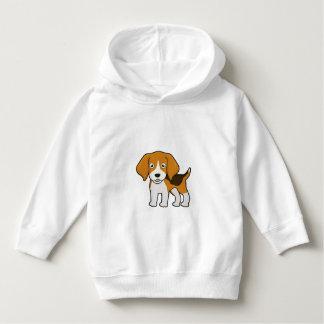 かわいいビーグル犬 パーカ