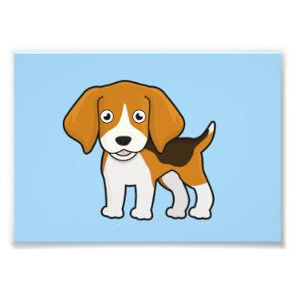 かわいいビーグル犬 フォトプリント