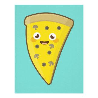 かわいいピザ レターヘッド