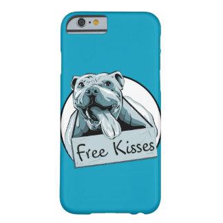 かわいいピットブルの電話箱 iPhone 6 ベアリーゼアケース