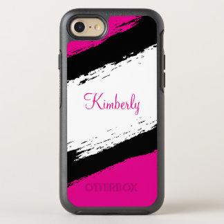 かわいいピンクのガーリー オッターボックスシンメトリーiPhone 8/7 ケース