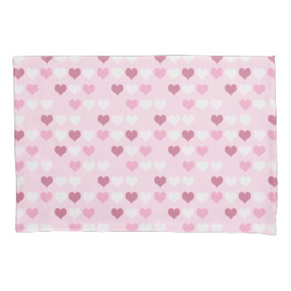 かわいいピンクのハートパターン 枕カバー