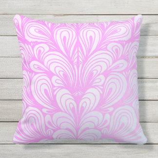 かわいいピンクのパターン(の模様が)あるな屋外の装飾用クッションのクッション クッション