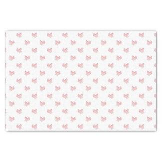 かわいいピンクのベビーカーパターン 薄葉紙