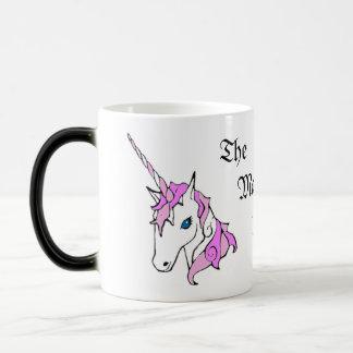かわいいピンクのユニコーンのファンタジーのマグ モーフィングマグカップ