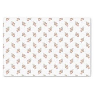 かわいいピンクの赤ん坊パターン 薄葉紙