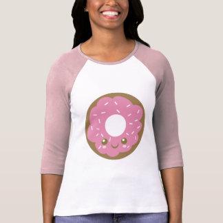 かわいいピンクドーナツ Tシャツ