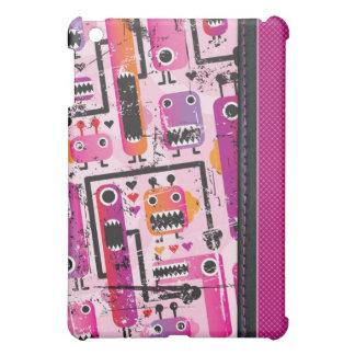 かわいいピンクモンスターのグランジなiphoneの場合 iPad mini case