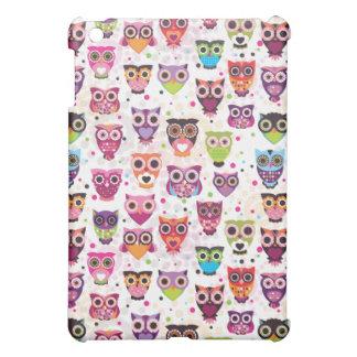 かわいいフクロウのipadの小型場合 iPad miniケース