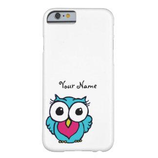かわいいフクロウのiPhoneの場合 Barely There iPhone 6 ケース