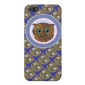かわいいフクロウ-フクロウ iPhone 5 CASE