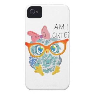 かわいいフクロウ Case-Mate iPhone 4 ケース