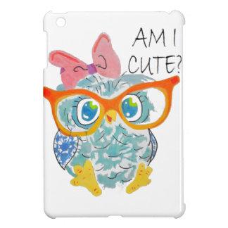 かわいいフクロウ iPad MINIケース