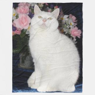 かわいいフリースブランケットかかわいい猫のフリースブランケット フリースブランケット