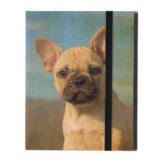 かわいいフレンチ・ブルドッグの子犬-保護Hardcase iPad ケース