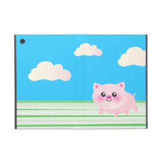 かわいいブタの漫画 iPad MINI ケース