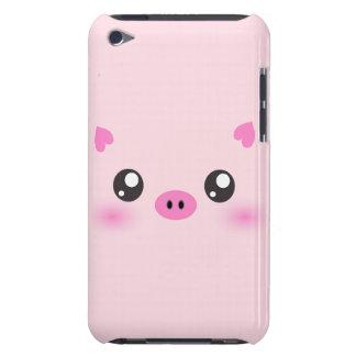 かわいいブタの顔-かわいいのミニマリズム Case-Mate iPod TOUCH ケース