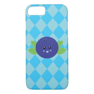 かわいいブルーベリーのiPhone 7の場合 iPhone 8/7ケース